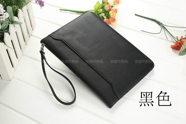 galaxy tab a 10 1 2016 business leather case with wrist loop black: