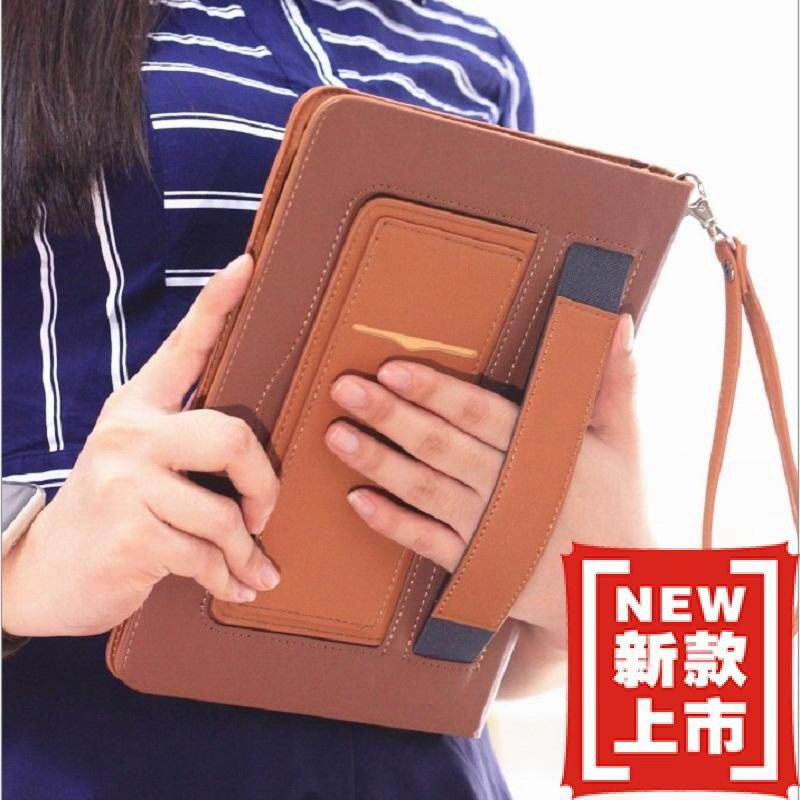 galaxy tab a 10 1 2016 business leather case with wrist loop