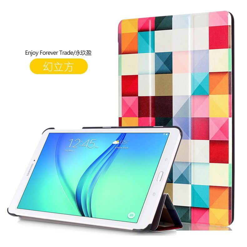 galaxy tab e 8 0 case with bright pattern pictures of eiffel tower tree hearts and other The magic cube: