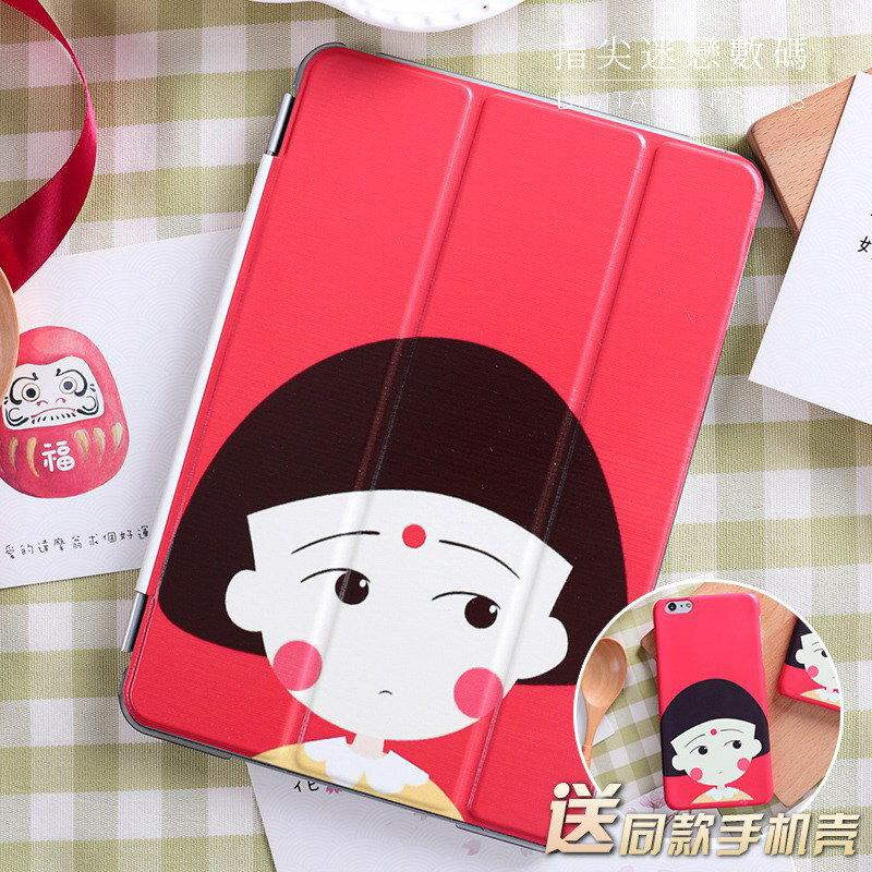 ipad pro 9 inch case with cartoon cute girl