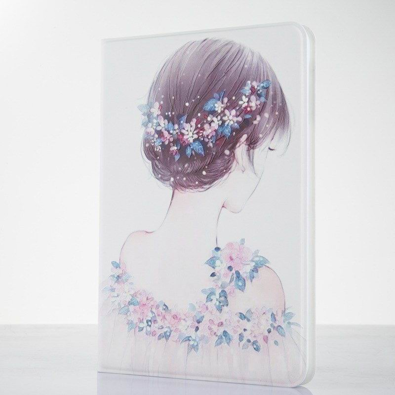 ipad pro 9 inch case with flower girl picture 2