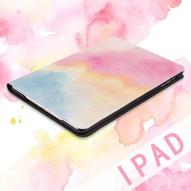 ipad pro 9 inch case with water color pattern