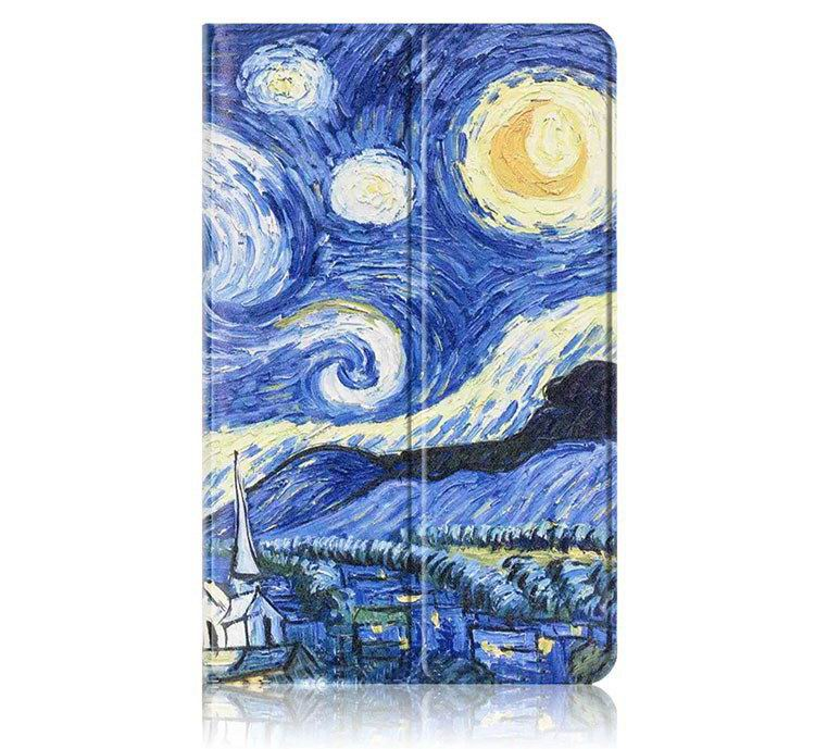 galaxy tab a 10 1 2016 colorful cases with bright patterns pictures The starry sky:
