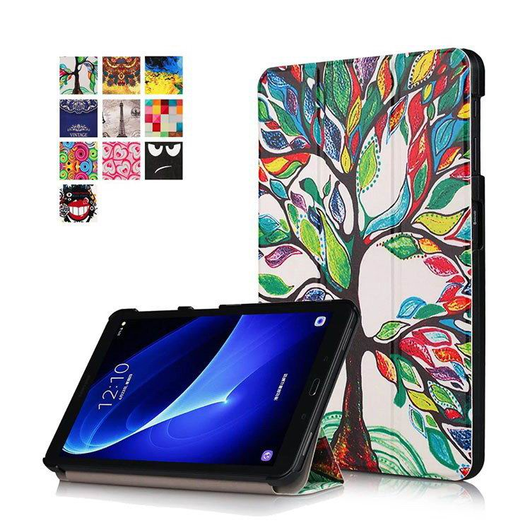 galaxy tab a 10 1 2016 colorful cases with bright patterns pictures Happy tree: