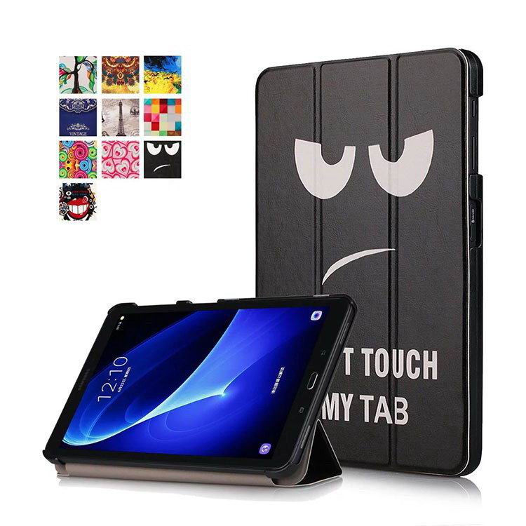 galaxy tab a 10 1 2016 colorful cases with bright patterns pictures Big eyes: