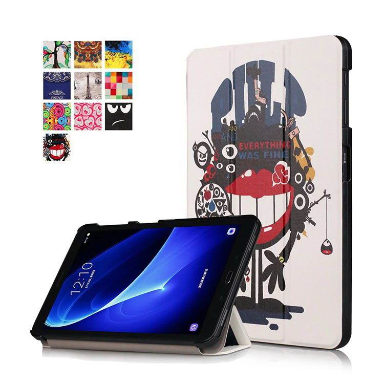 galaxy tab a 10 1 2016 colorful cases with bright patterns pictures The big mouth: