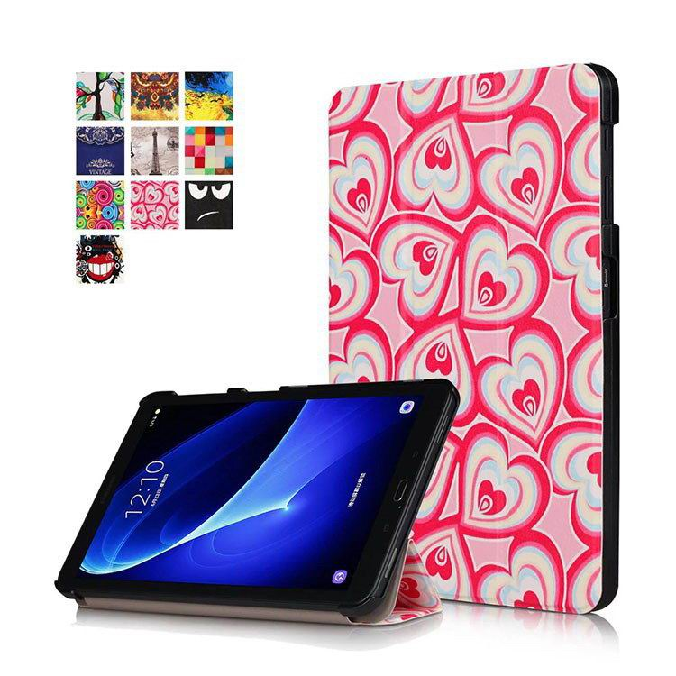 galaxy tab a 10 1 2016 colorful cases with bright patterns pictures Fantasy hearts: