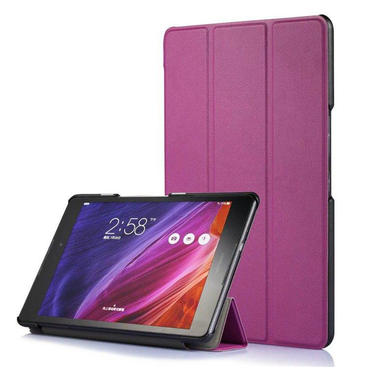 zenpad z8 fashion thin cases business style and multicolor pattern Purple: