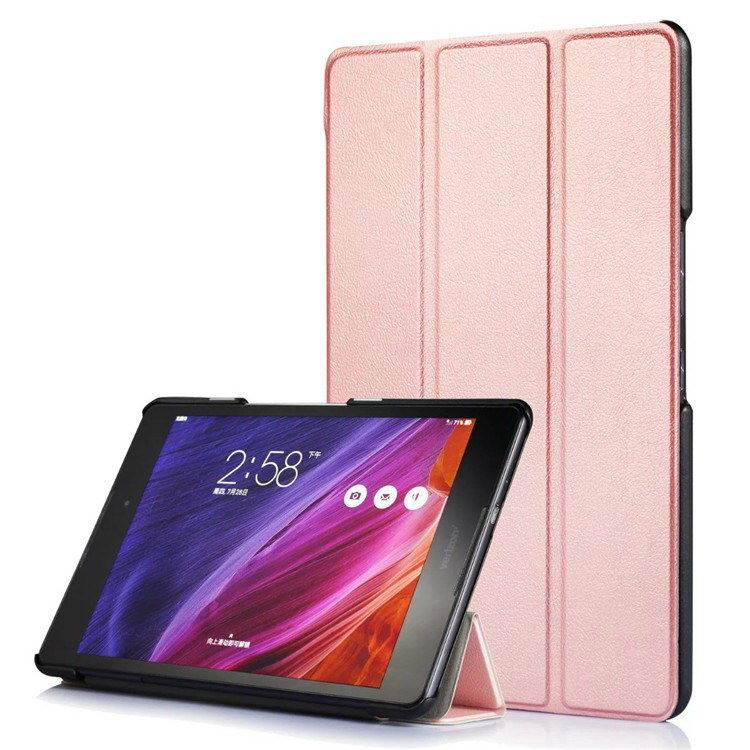zenpad z8 fashion thin cases business style and multicolor pattern Rose Gold: