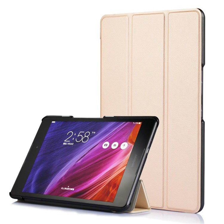 zenpad z8 fashion thin cases business style and multicolor pattern Golden: