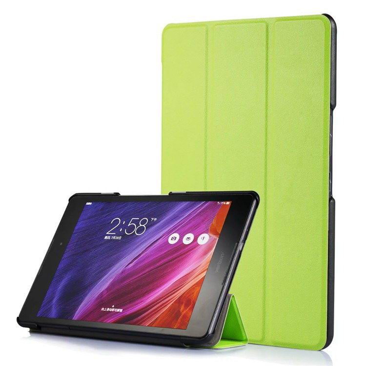 zenpad z8 fashion thin cases business style and multicolor pattern Green: