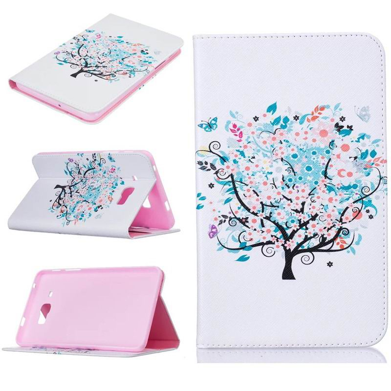 galaxy tab j bright case with a picture of butterflies flowers animals and other Watermelon red wisdom tree: