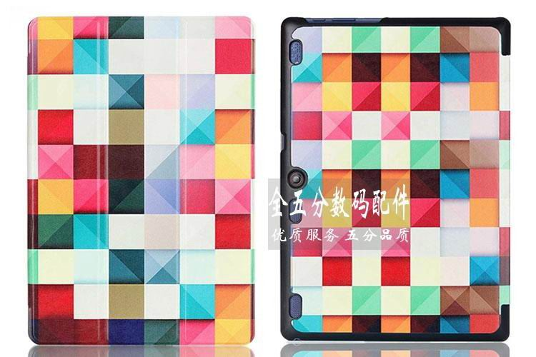 tab3 10 bright painted case Magic cube: