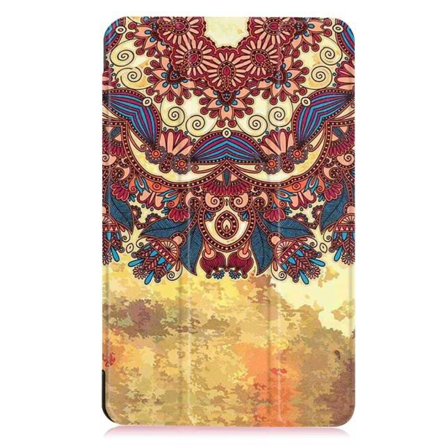 galaxy tab e 8 0 bright painted case with different pictures Tribal:
