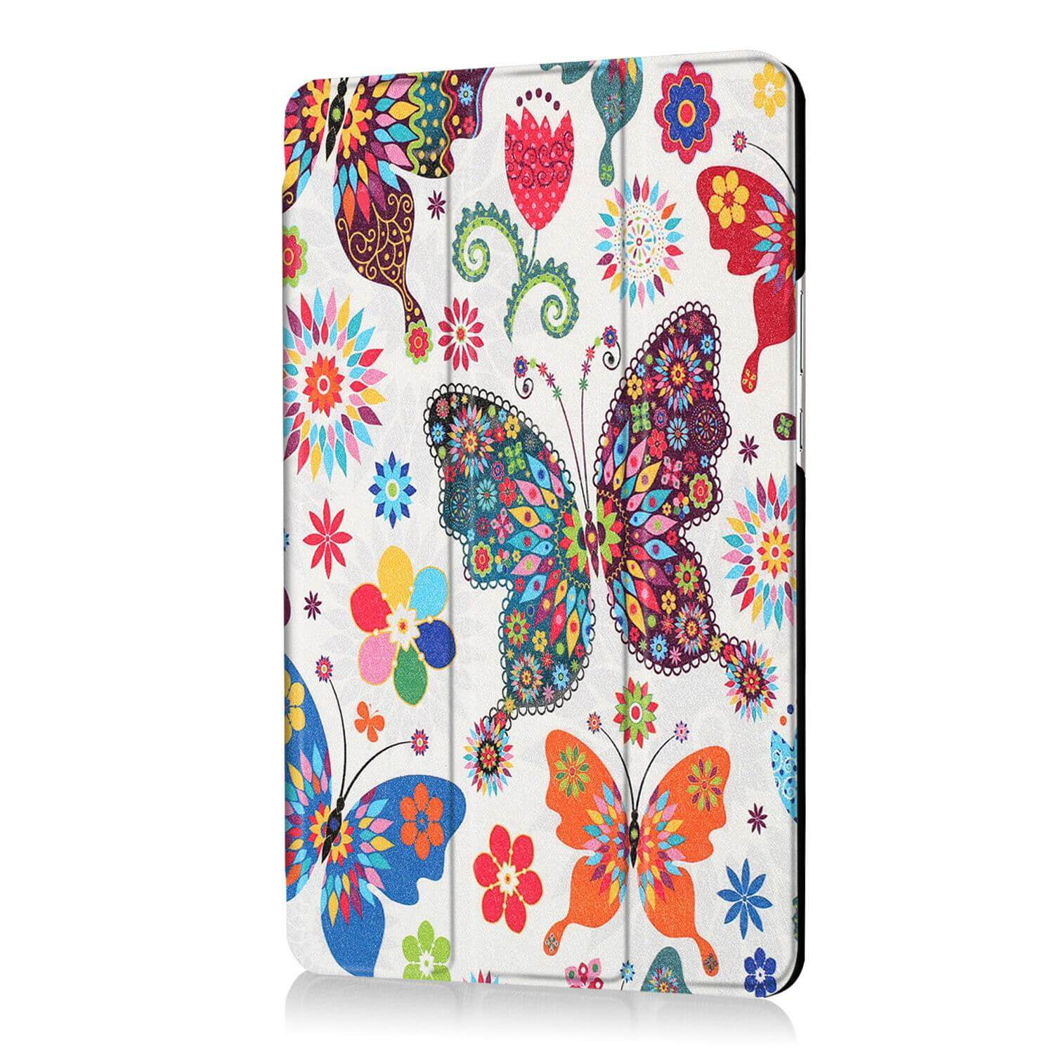 mediapad m3 bright painted case with pictures of paris butterflies and other Colored butterfly: