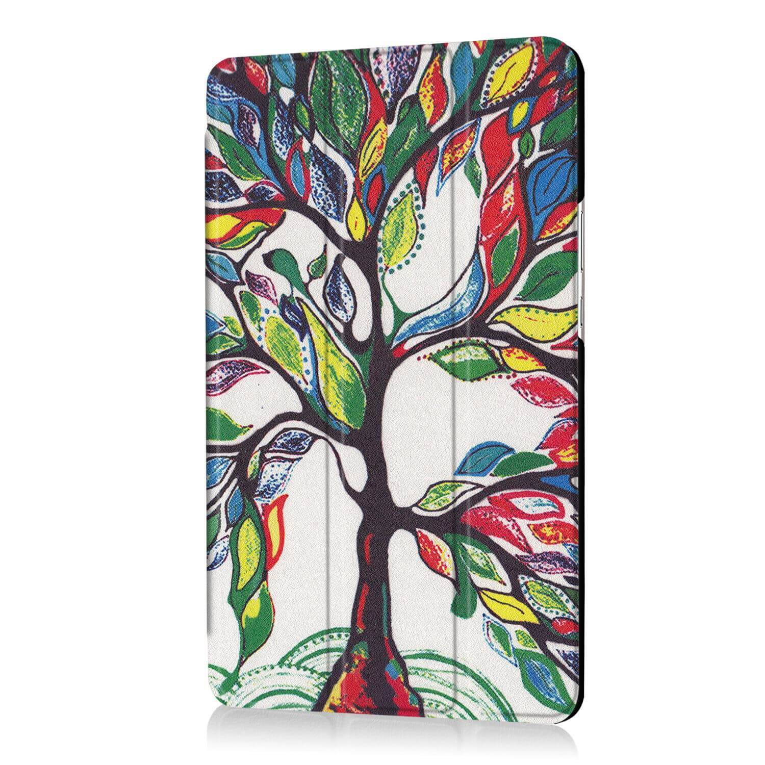 mediapad m3 bright painted case with pictures of paris butterflies and other tree: