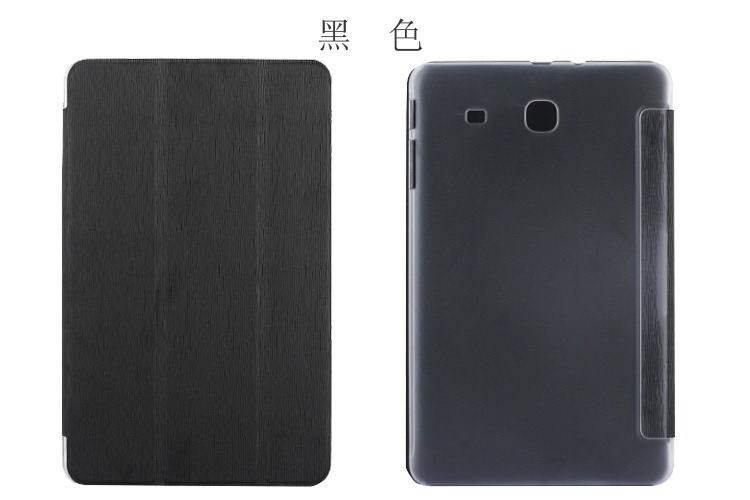galaxy tab e 8 0 bright plain case with transparent housing