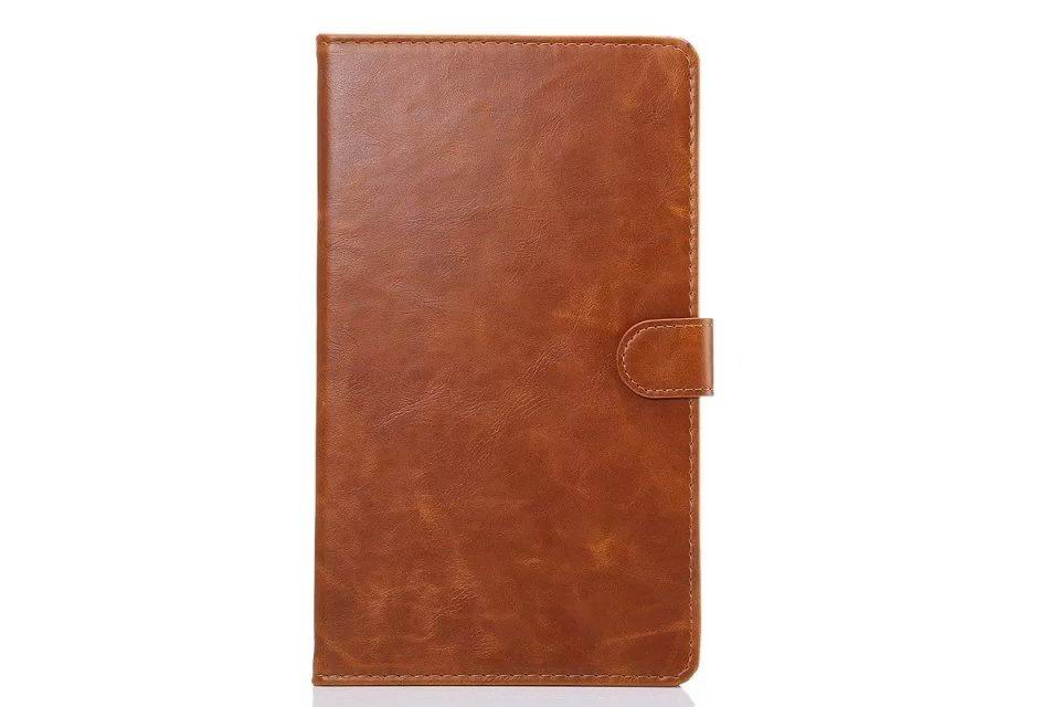 galaxy tab e 8 0 business case man with card slots 2 Light brown: