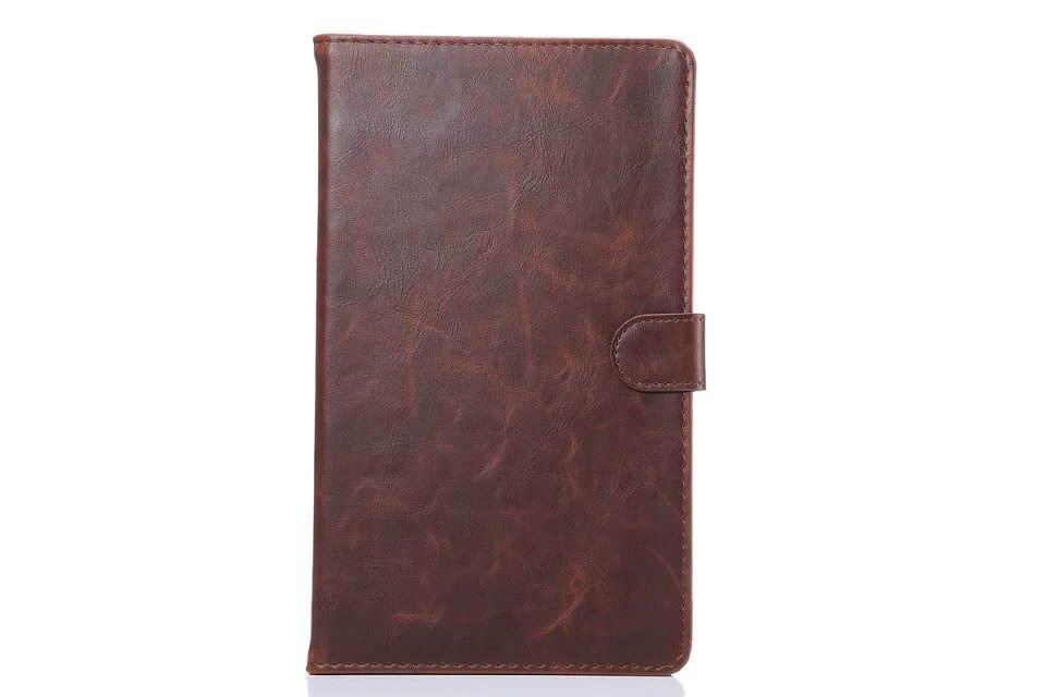 galaxy tab e 8 0 business case man with card slots 2 Dark brown: