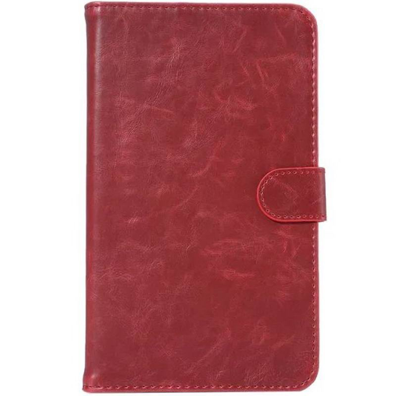 galaxy tab a 7 0 2016 business case man with card slots Wine red:
