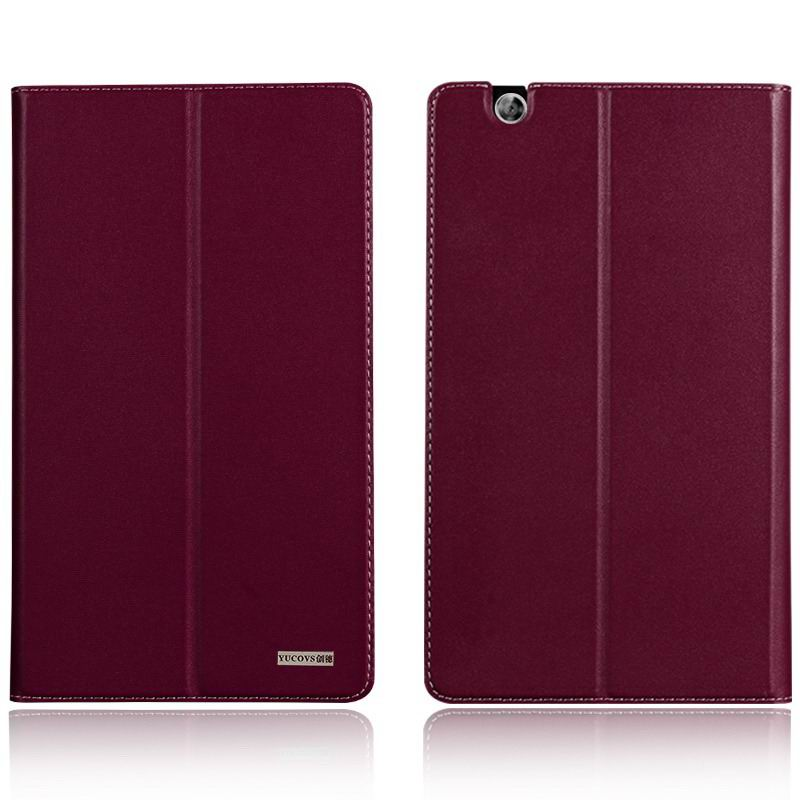 mediapad m3 business case with leather style pattern from huawei mediapad m3 btv w09 Purple: