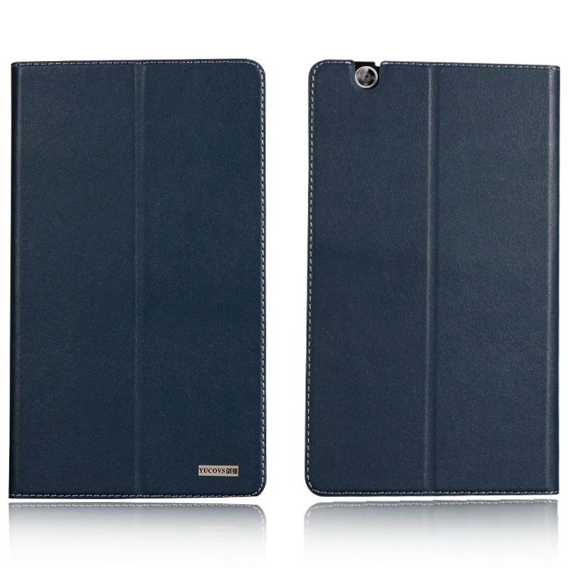 mediapad m3 business case with leather style pattern from huawei mediapad m3 btv w09 Blue: