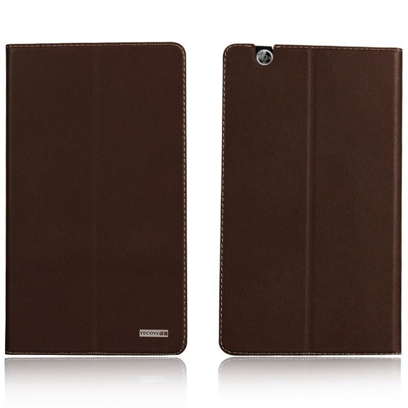 mediapad m3 business case with leather style pattern from huawei mediapad m3 btv w09 Brown: