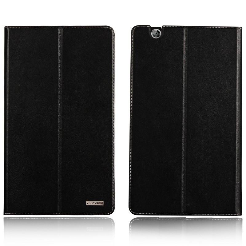mediapad m3 business case with leather style pattern from huawei mediapad m3 btv w09 Black: