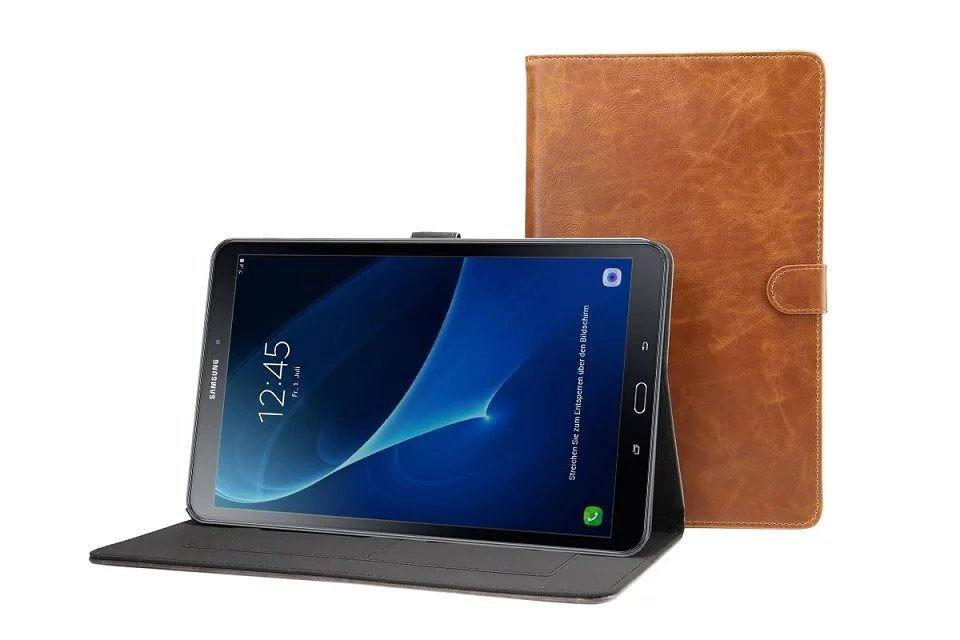 galaxy tab a 10 1 s pen 2016 business case with multicolor leather pattern and stand