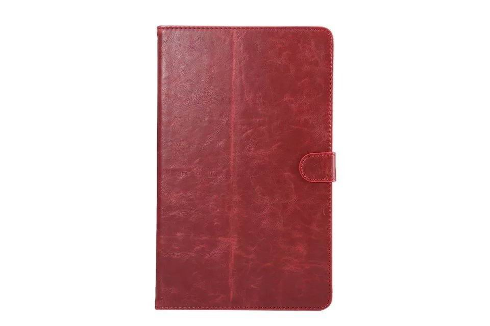 galaxy tab a 10 1 s pen 2016 business case with multicolor leather pattern and stand Wine red: