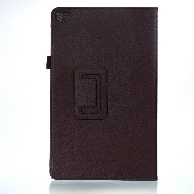 mediapad t2 10 pro business case with multicolor pattern and stand Dark brown: