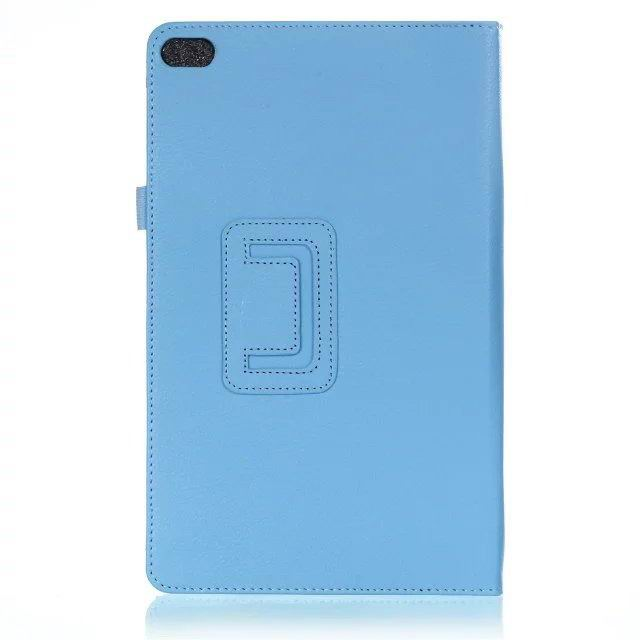 mediapad t2 10 pro business case with multicolor pattern and stand Sky blue: