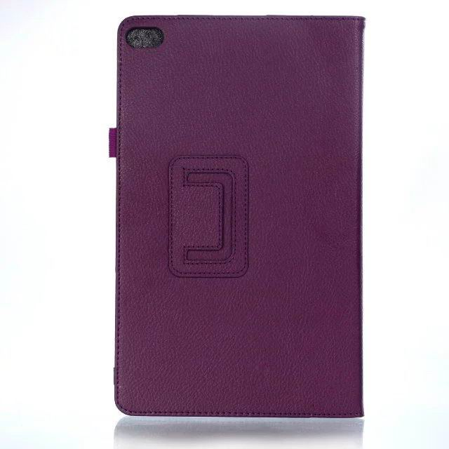 mediapad t2 10 pro business case with multicolor pattern and stand Purple:
