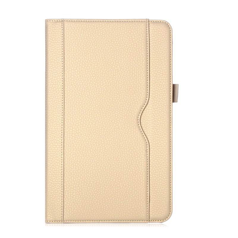 galaxy tab a 10 1 s pen 2016 business case with stand wrist loop 3 gold: