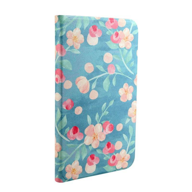 cartoon case with totoro flowers paris pictures and other Blue ground floral: