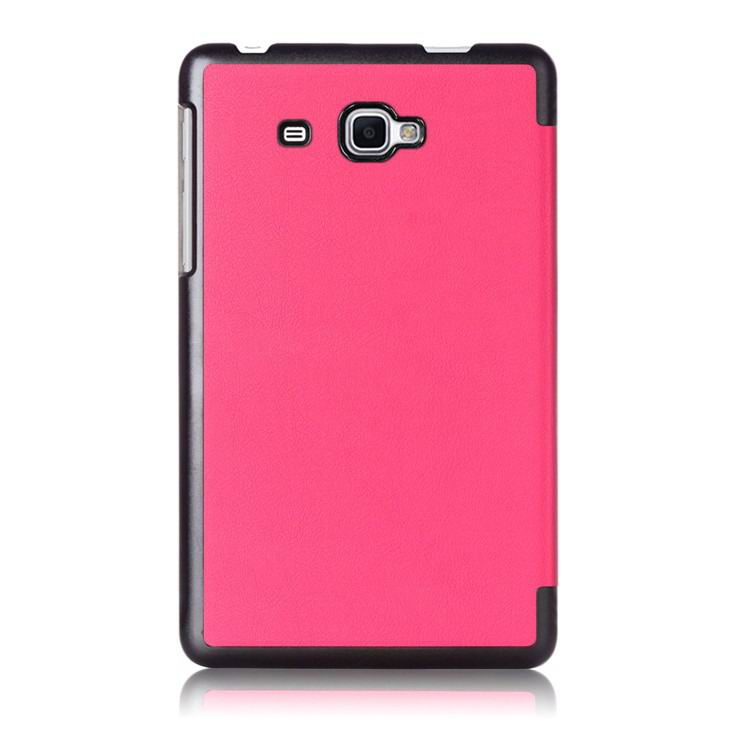 galaxy tab j case with black frame 2 Rose red: