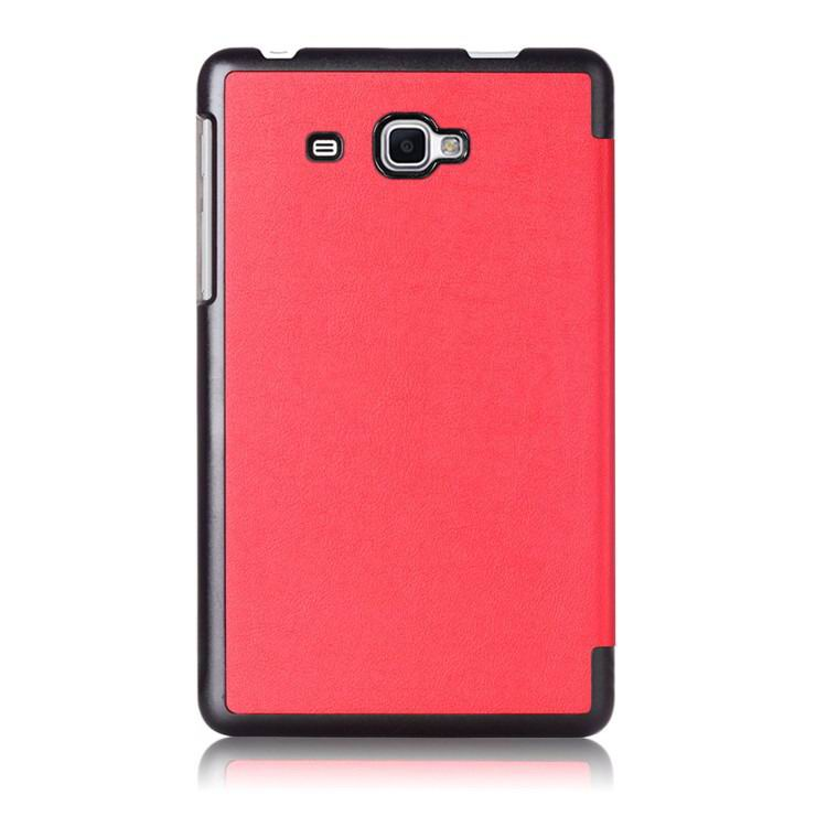 galaxy tab j case with black frame 2 Red: