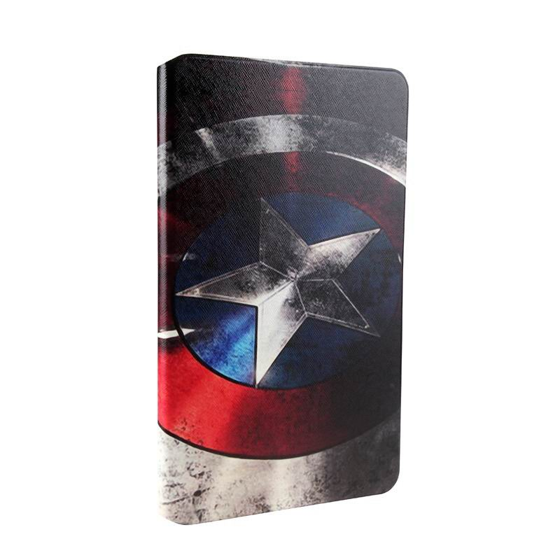 mediapad t1 70 plus case with bright pictures of flowers paris kitty luffy and other Captain America: