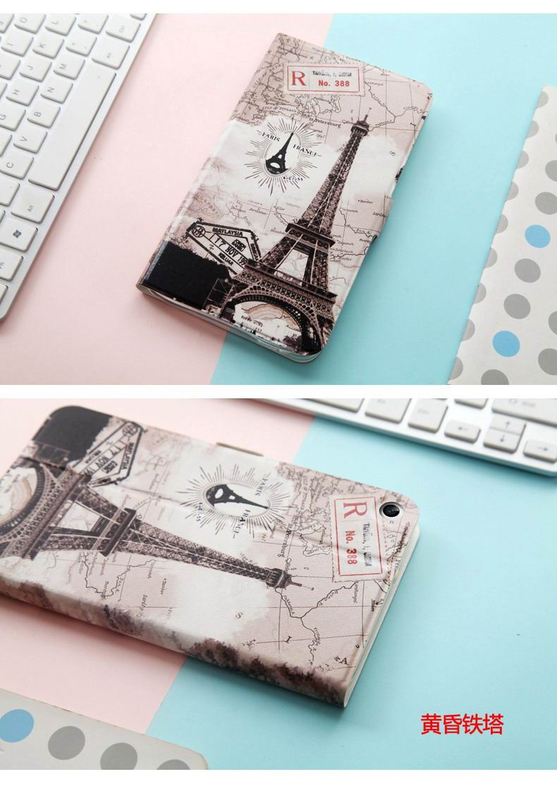 mediapad t1 70 plus case with bright pictures of flowers paris kitty luffy and other