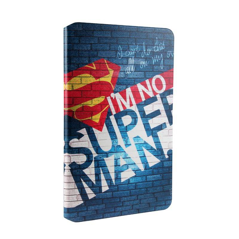 mediapad t1 70 plus case with bright pictures of flowers paris kitty luffy and other I'm not Superman: