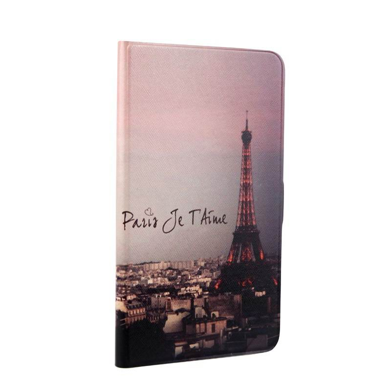 mediapad t1 70 plus case with bright pictures of flowers paris kitty luffy and other Tower: