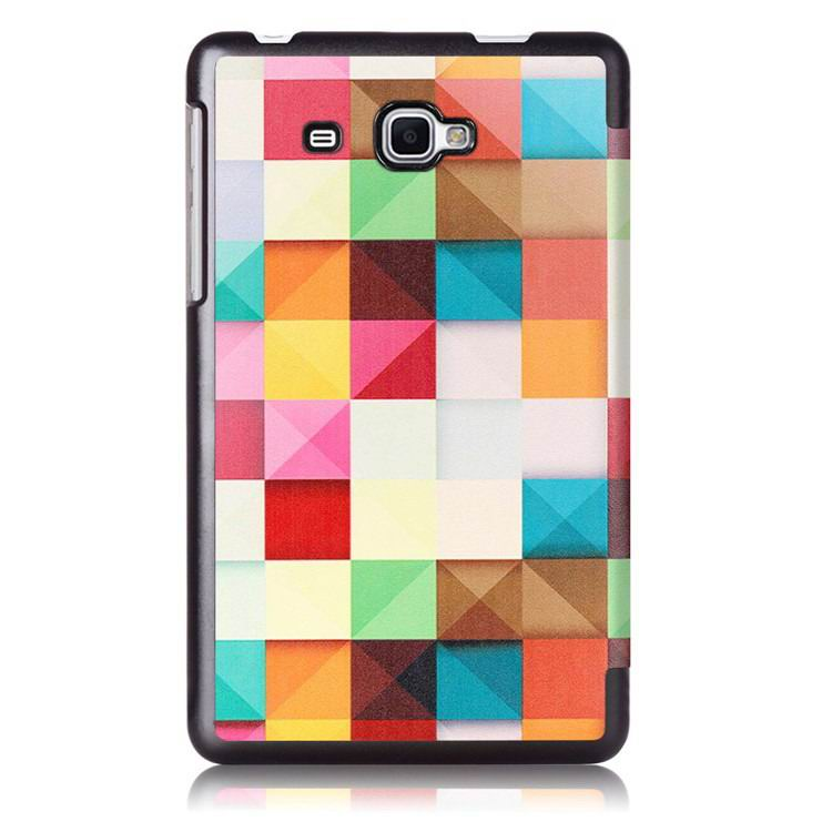 galaxy tab j case with bright pictures of trees and other Magic style: