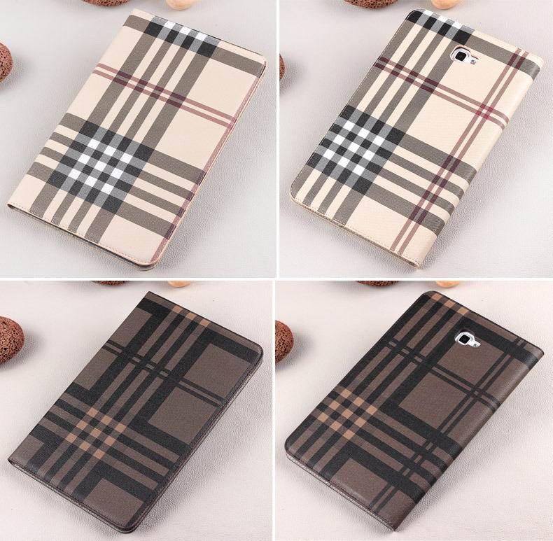 galaxy tab a 10 1 2016 case with card slots and pictures of map and plaid pattern samsung galaxy tab a 10 1 2016 sm t580 sm t585