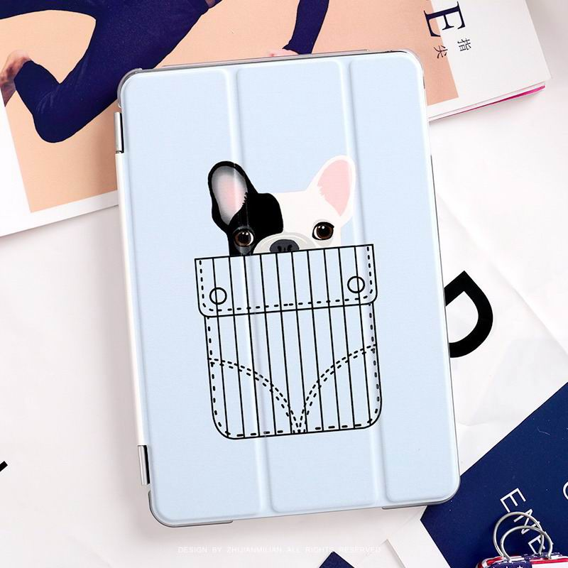 ipad pro 9 inch case with cute dog picture pocket Dog: