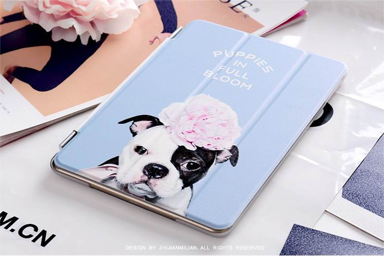 ipad pro 9 inch case with cute dog picture