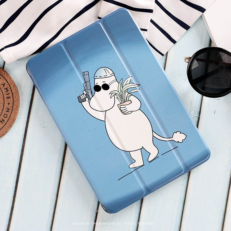 ipad pro 9 inch case with cute hippo moomin picture killer Moomin: