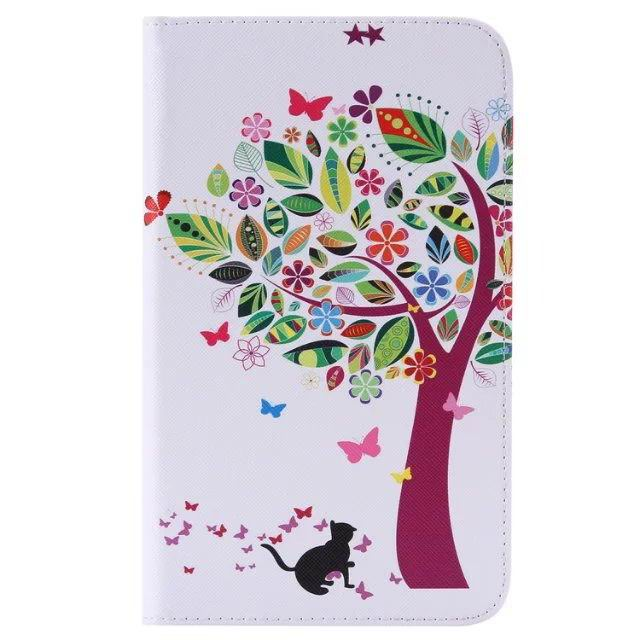 galaxy tab a 7 0 2016 case with cute pictures of cats tiger trees and other 6: