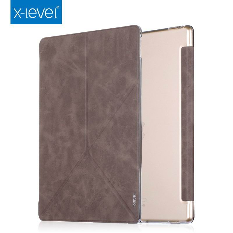 ipad pro 9 inch case with marble pattern and plenty of stand options