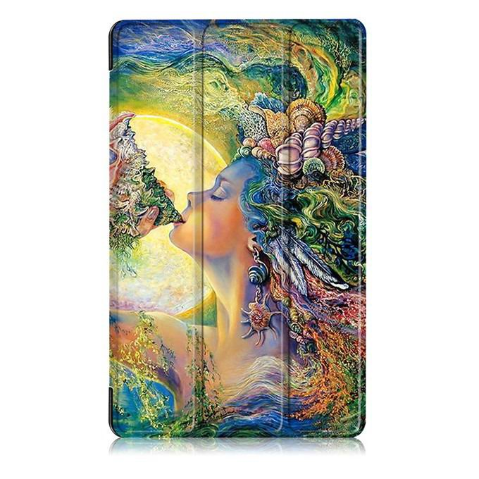 mediapad m3 case with oil painting of van gogh and other The sea of women: