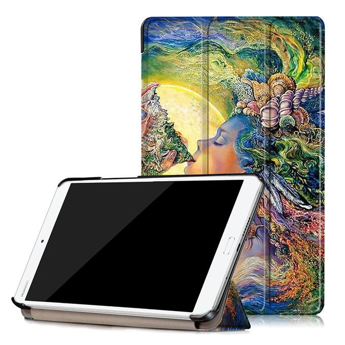 mediapad m3 case with oil painting of van gogh and other